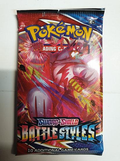 Pokemon Battle Styles Booster Pack (random artwork)