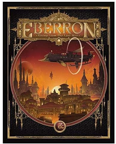 D&D Eberron: Rising From the Last War Adventure Book (Alternate Cover) - English