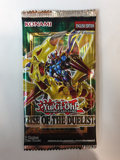 Yugioh Rise of the Duelist Booster Pack