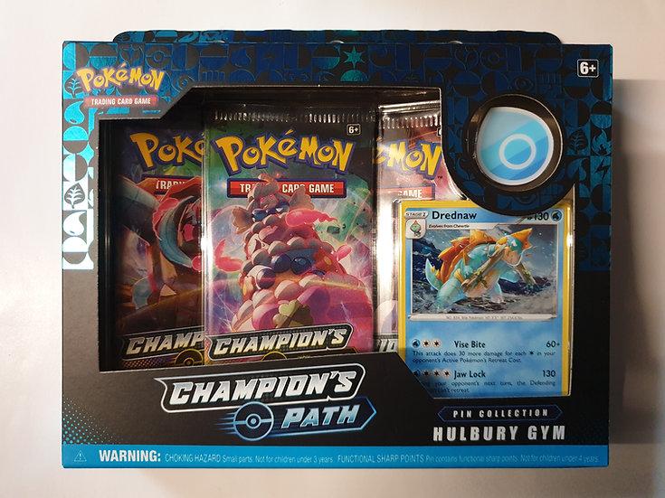 Pokemon Champions Path Pin Collection Hulbury Gym