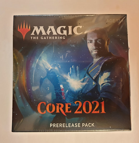 Magic the Gathering Core 2021 Prerelease kit + 2 boosters