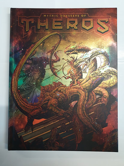 Dungeons & Dragons Alternate Art MYTHIC ODYSSEYS OF THEROS book