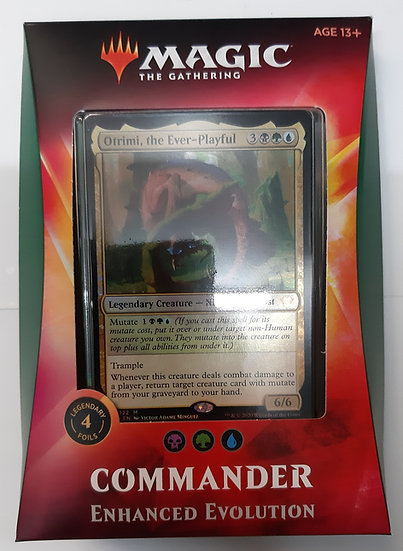 Magic the Gathering Commander - Enhanced Evolution