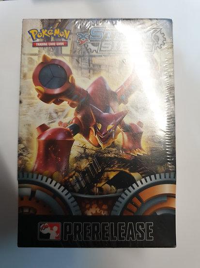 Pokemon Steam Siege Prerelease box