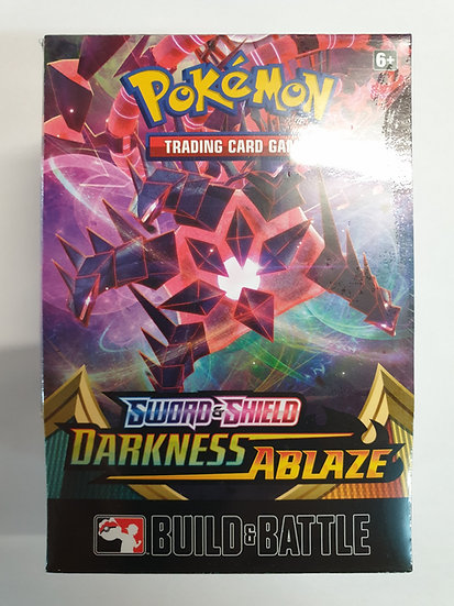 Pokemon Darkness Ablaze Build and Battle Prerelease kit