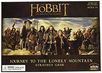 Hobbit Journey to the Lonely Mountain Board Game