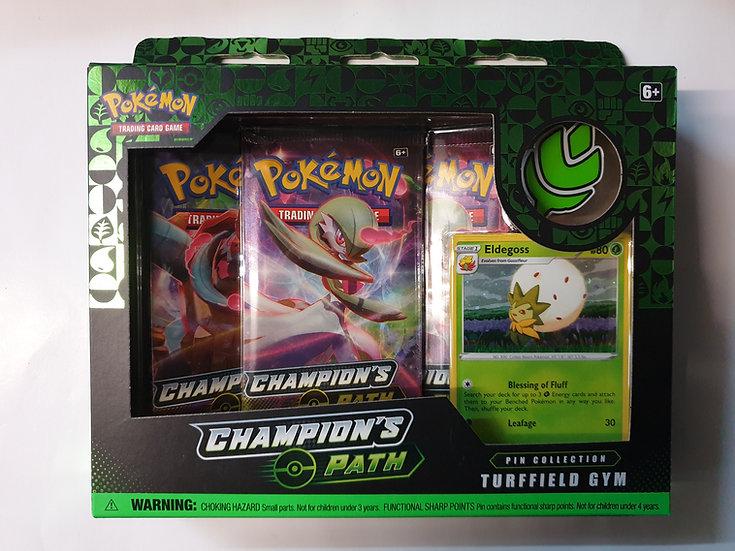 Pokemon Champions Path Pin Collection Tuffield Gym