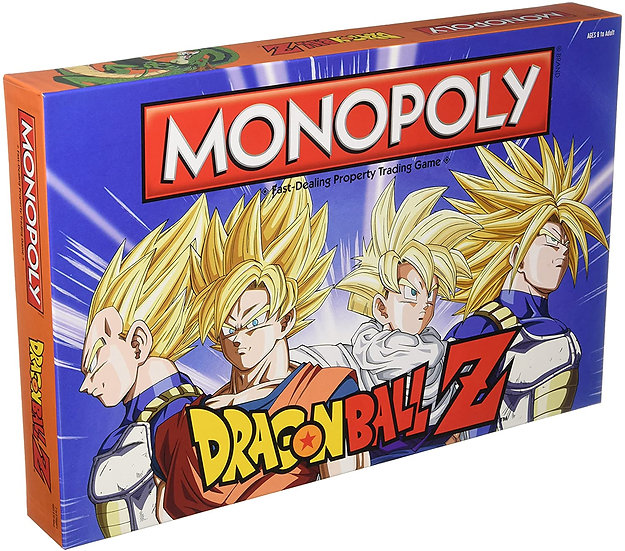 Dragon Ball Z Edition Monopoly Board Game