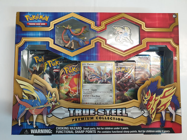 Pokemon True Steel Premium Collection - Zacian