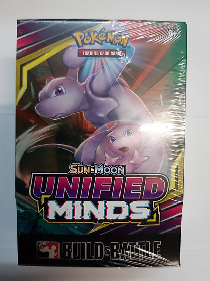 Pokemon Unified Minds Build and Battle Prerelease Kit
