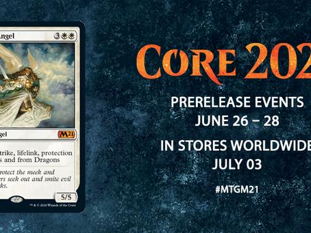 Magic Core 2021 Prerelease and release