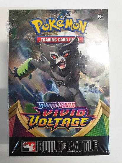 AT HOME Pokemon Vivid Voltage Prerelease + 3 Vivid Voltage Booster Packs
