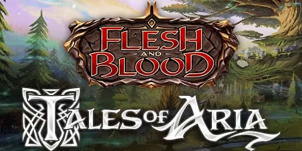 Flesh and Blood Tales of Aria Prerelease in store
