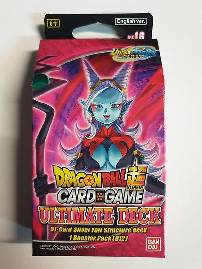 Dragon Ball Super Ultimate Deck Unison Warrior Series