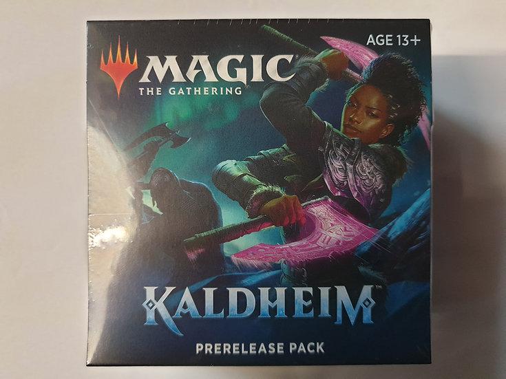 Magic the Gathering Kaldheim Prerelease kit