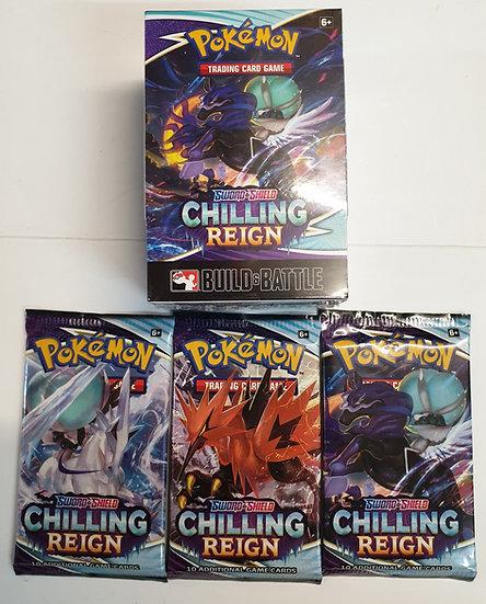 Pokemon Chilling Reign Build & Battle Kit with 3