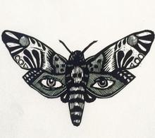Dead head moth