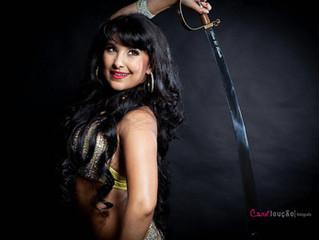 Sem apoio, bailarina sai da ZL e é campeã do mundo no Egito