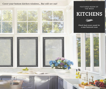Kitchen Shaads Window Coverings