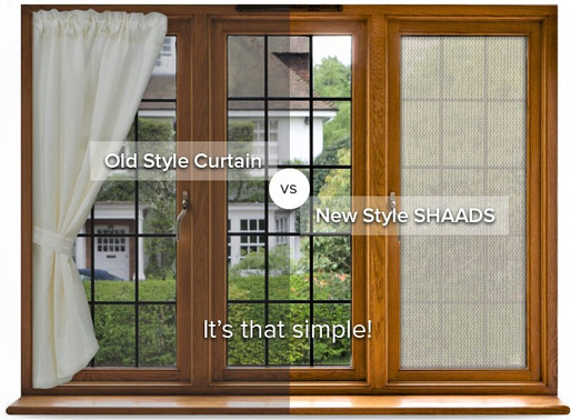 Finding that your curtains don't get the job done?