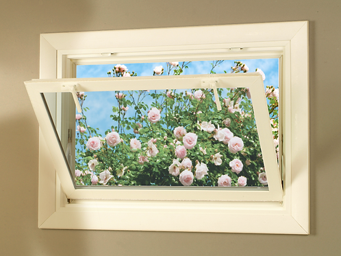 100% Solid Wood Basement Window Covering