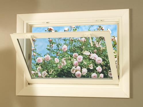 100% Solid Wood Basement Window Covering