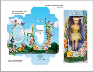 Disney on Ice Tinkerbell Dollbox