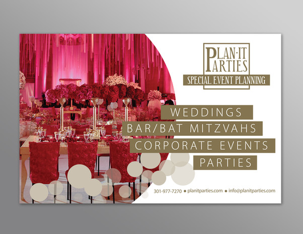 Event Planner Half Page Ad
