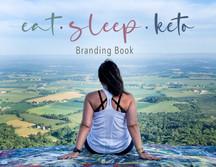 Eat Sleep Keto Brand Book