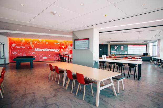 MicroStrategy Lounge