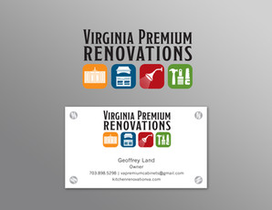 Virginia Premium Renovations Logo and Bu