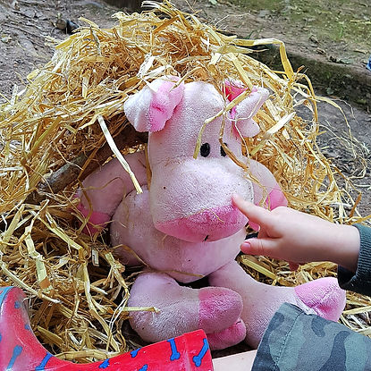 The Three little Pigs. Outdoor Learning with The World Outside