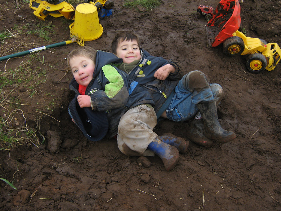 Playing in the mud With The World Outside