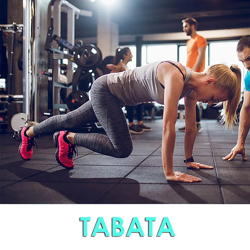 Programme d'entraînement TABATA.