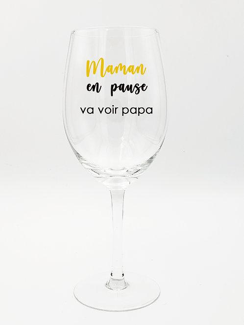MAMAN EN PAUSE Va voir papa