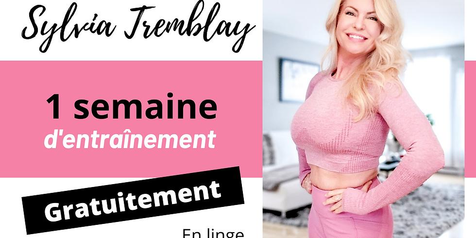 SEMAINE D'ENTRAINEMENT GRATUITE (pour femme seulement)