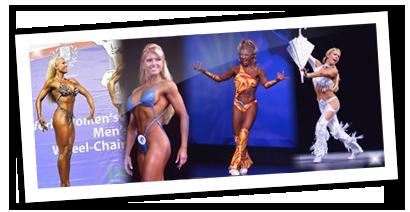 Sylvia Tremblay Championne de fitness