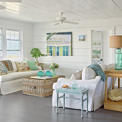 white-turquoise-beach-living-room