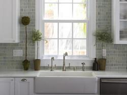 Kitchen Photo with farm sink