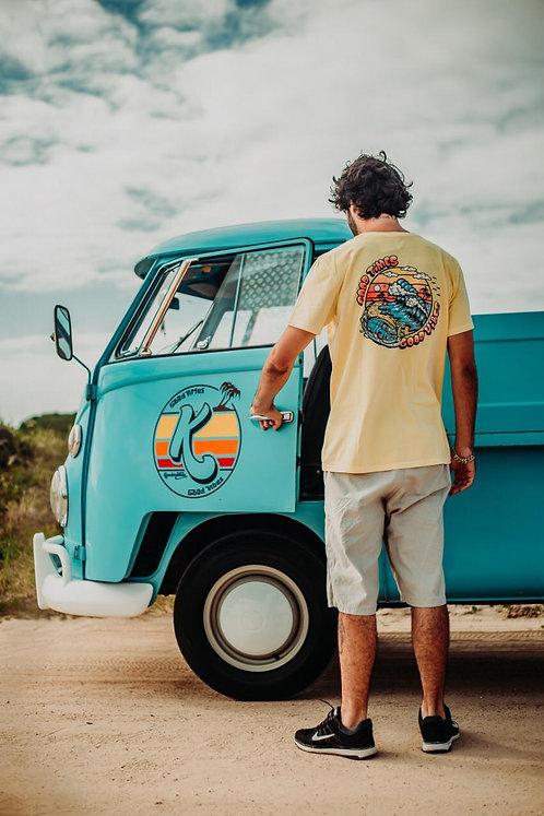 Camiseta Kombination Destino Praia