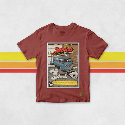 Camiseta #VOLTAJABICA Kombination