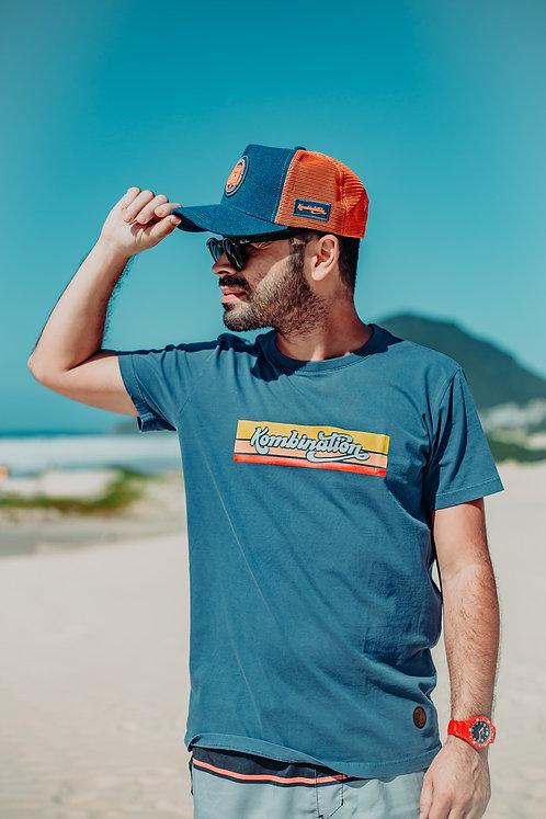 Camiseta Kombination Stripes Masculina