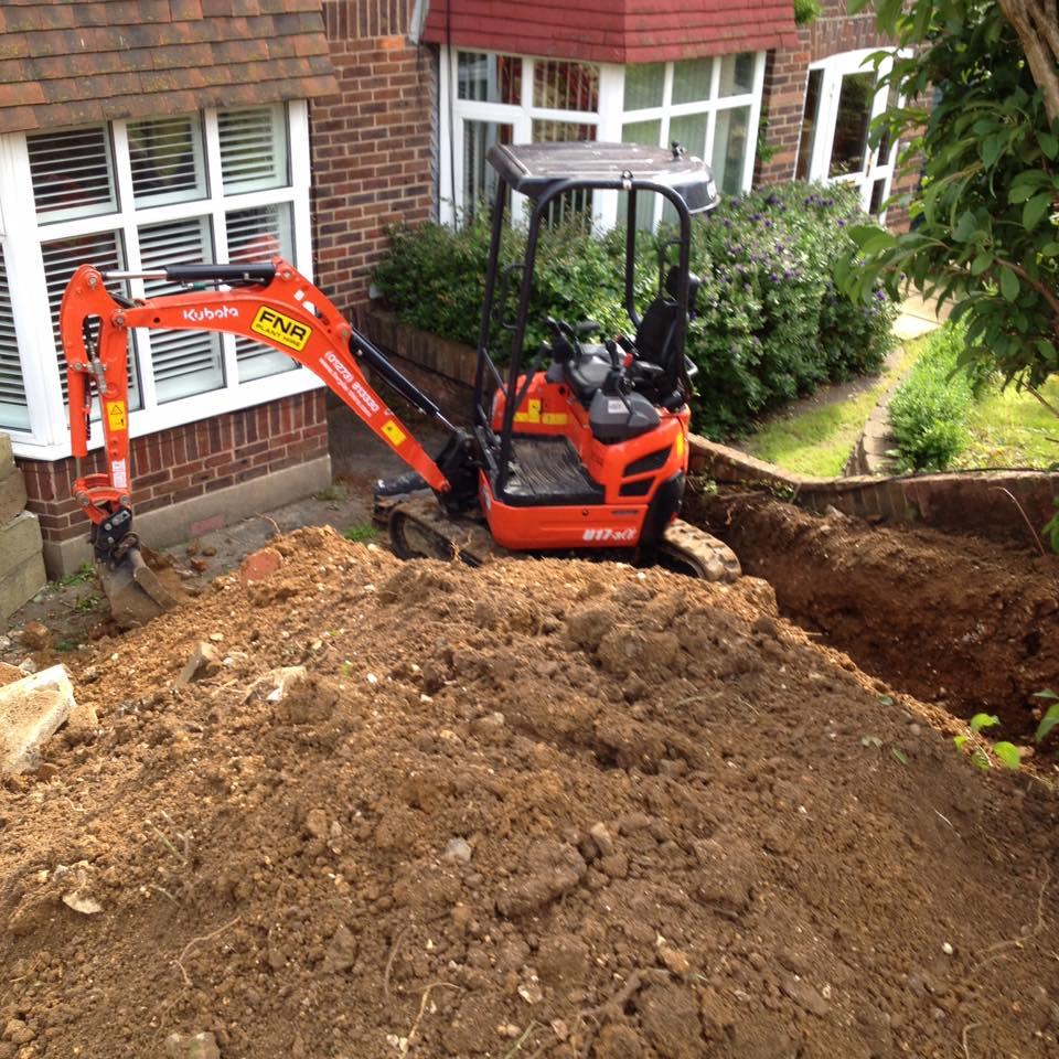 FNR 1.7T Excavator