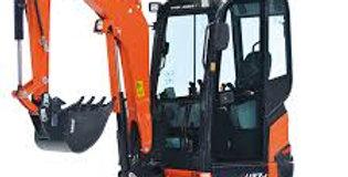2.7 Tonne Excavator Zero tail swing mini