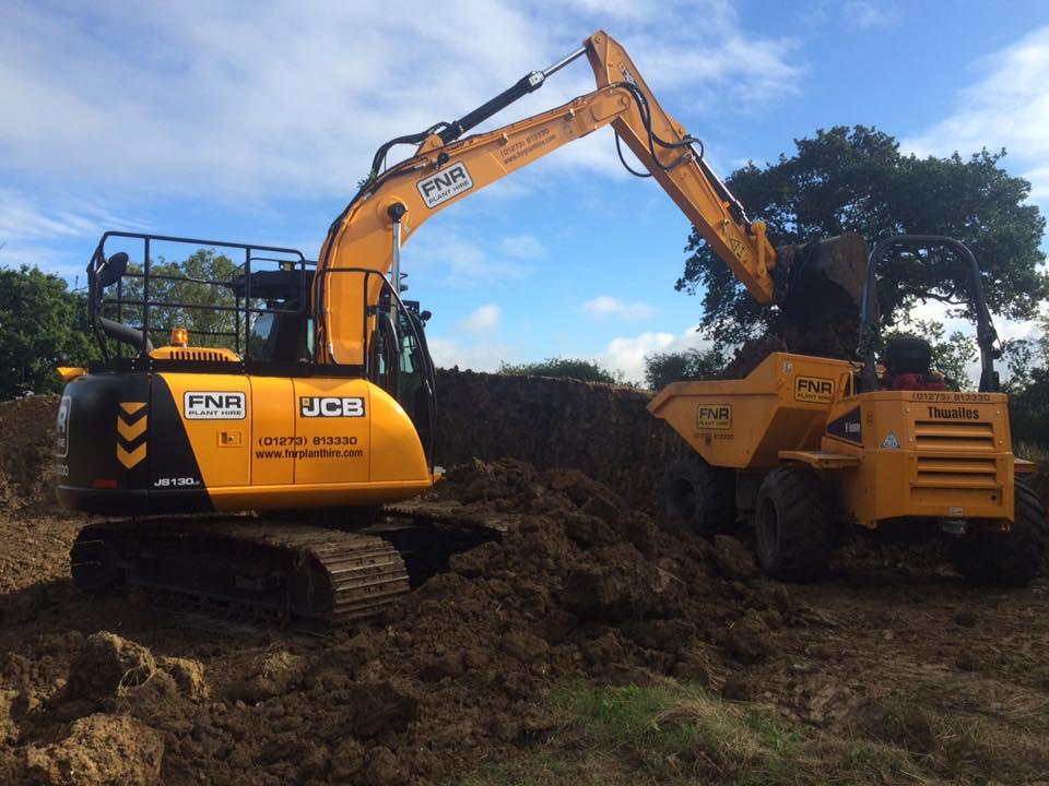 13T Excavator & 9T Dumper