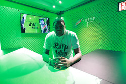 In the RSVP Gallery x Mountain Dew All Star 2020 Merch Booth