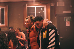 With Juice Wrld in London, UK