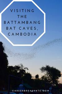 Visiting the Battambang Bat Caves Cambodia, career break