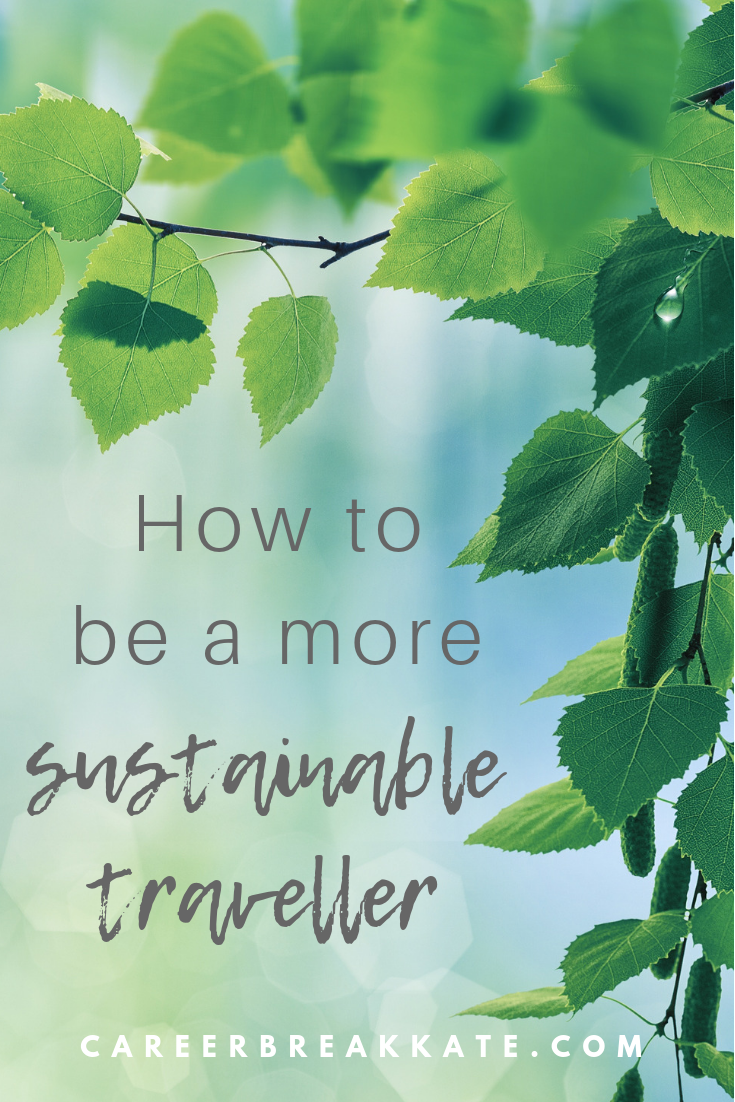 How to be a sustainable traveller and travel 'green'