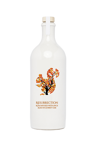Resurrection Rum Infused with Spice Aged in Surrey Oak